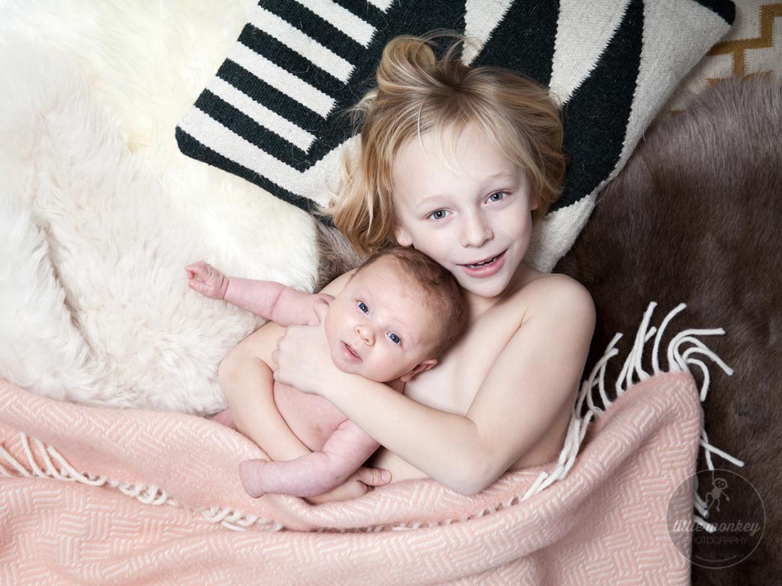 Geschwisterportrait / Babyfoto © Miriam Ellerbrake, 2016