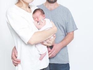 Ein Bild aus dem Newbornshooting mit Baby Luise, Berlin 2016