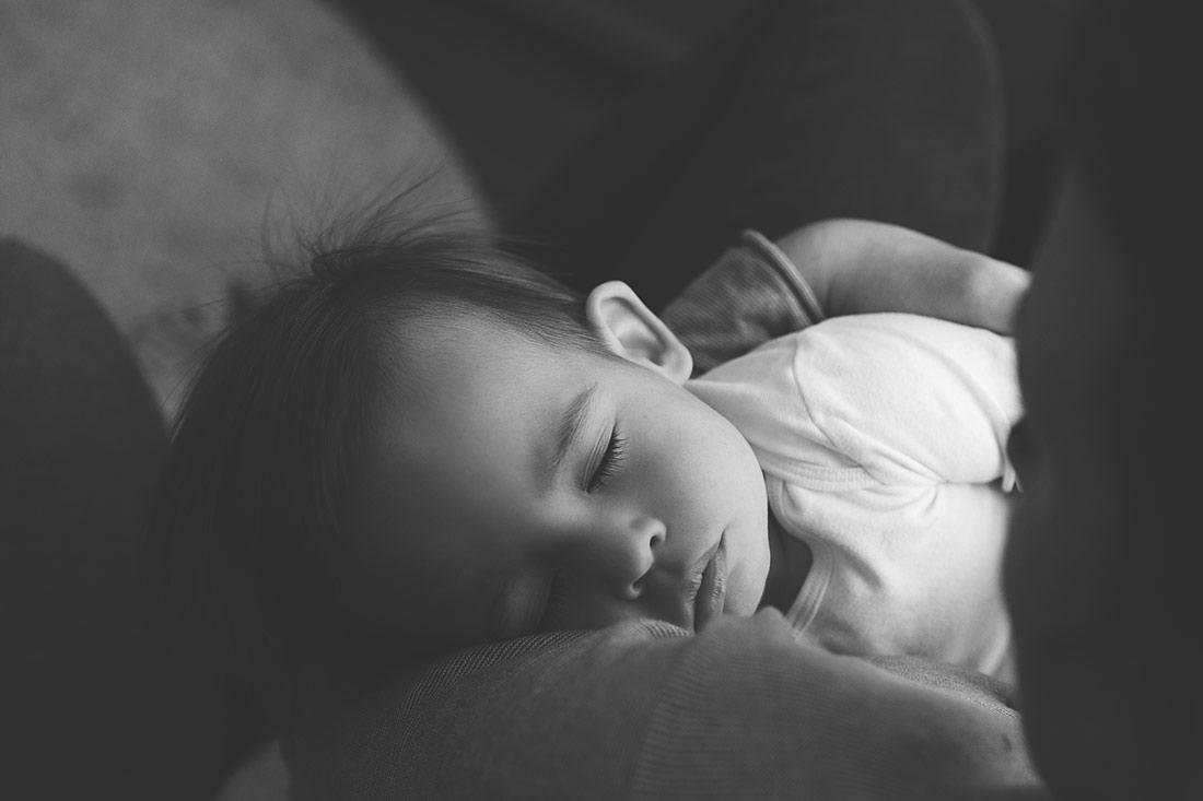 schlafendes Baby © Miriam Ellerbrake, Little Monkey Fotografie Berlin