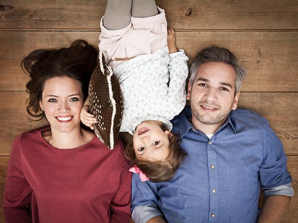 Familie von oben fotografiert © Miriam Ellerbrake 2017