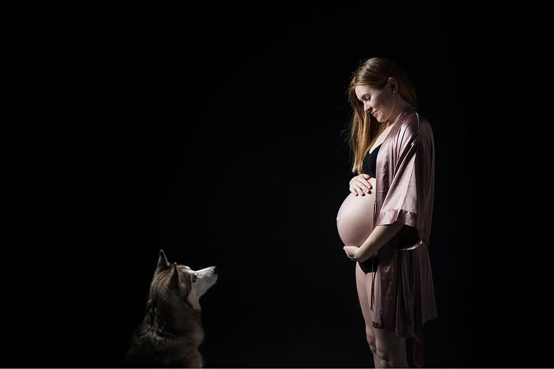 Schwangerschaftsfoto © Miriam Ellerbrake, Little Monkey Berlin 2018