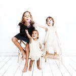Kinderportrait dreier Mädchen