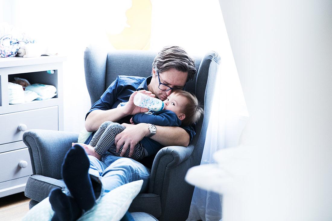 Vater und Sohn Portrait © Miriam Ellerbrake / Little Monkey Photography 2018